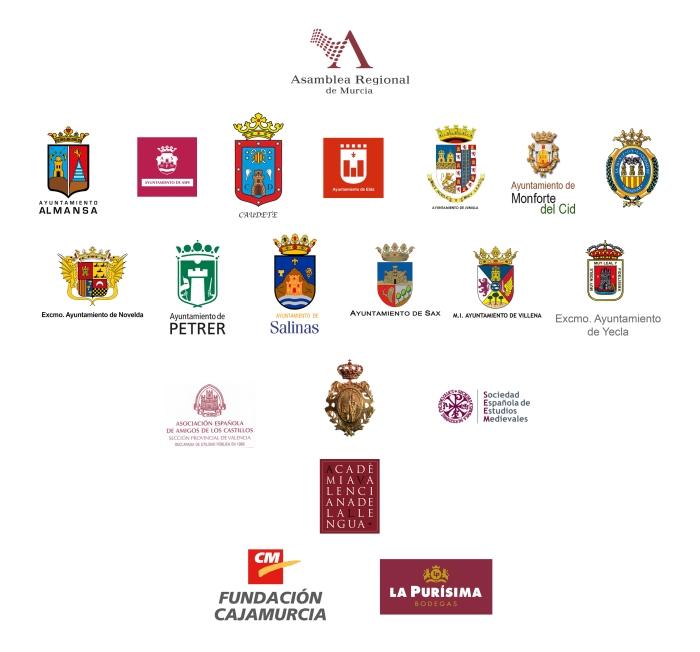 Logos ayuntamientos y patrocinadores